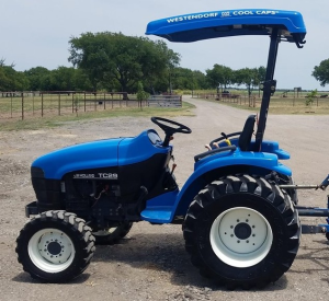 new holland tc29da, tc33da compact tractor complete service manual