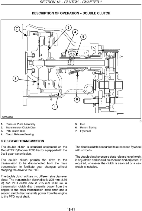 Second Additional product image for - New Holland T2210, T2220, Boomer 2030, Boomer 2035 Compact Tractor Service Manual