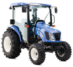 new holland boomer 3040, 3045, 3050 tractor with cab and cvt transmission service manual