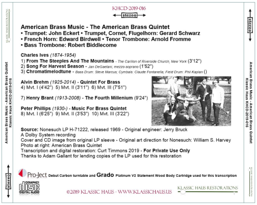 First Additional product image for - American Brass Music - American Brass Quintet