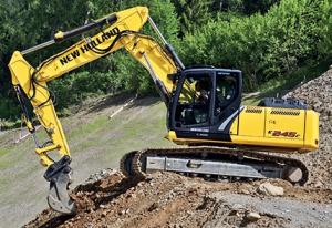 new holland e215c, e245c crawler excavator service manual
