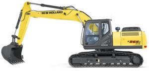 new holland e265c evo crawler excavator service manual
