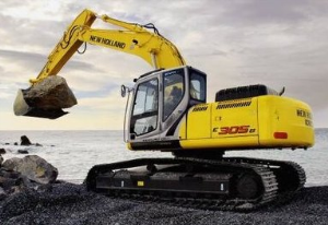 new holland e265b, e305b crawler excavators service manual