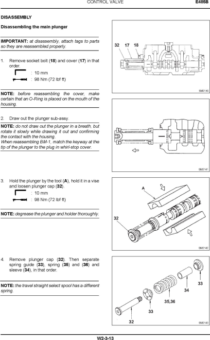 Fourth Additional product image for - New Holland E485B ROPS Tier III Crawler Excavators Service Manual