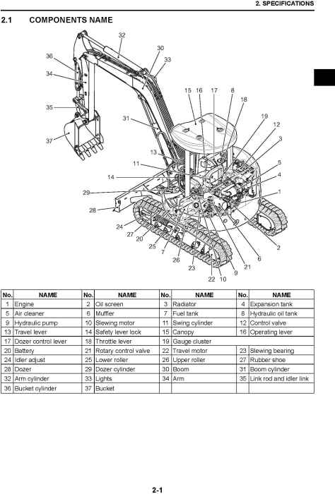 First Additional product image for - New Holland E45BSR/E50BSR Mini Excavators Service Manual (09/2011)