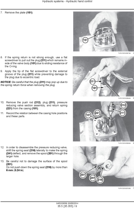 Fourth Additional product image for - New Holland E16B, E18B Mini Excavator Service Manual
