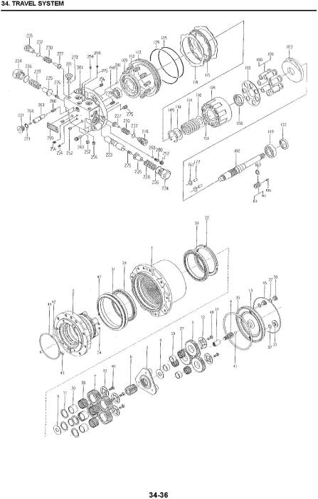 Third Additional product image for - New Holland E35B SR, E39B SR, Mini Excavators Service Manual (10-2011)