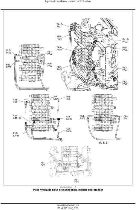 Fourth Additional product image for - New Holland E26B SR, E29B SR Mini Excavator Service Manual