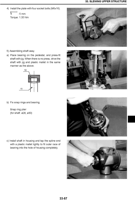 Third Additional product image for - New Holland E45B SR, E50B SR, E55B Mini Excavator Service Manual