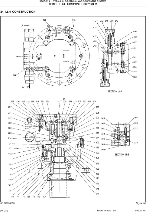 Third Additional product image for - New Holland E50, E50SR Compact Excavator Service Manual
