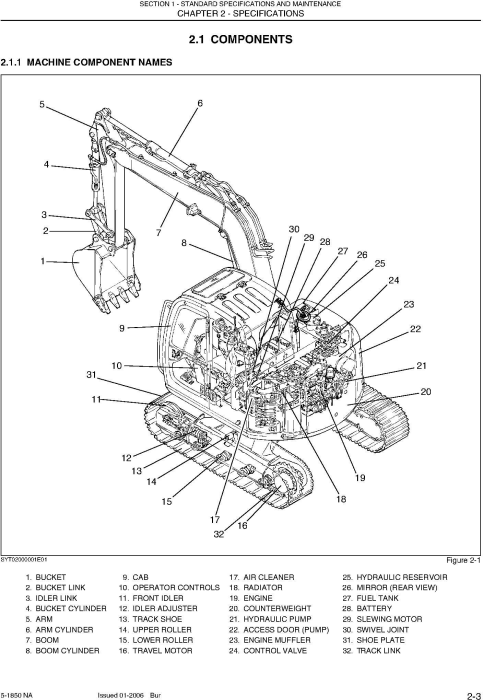Second Additional product image for - New Holland E70 MIDI Crawler Excavator Service Manual