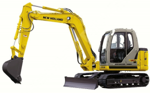 New Holland E80 (EH80) MIDI Crawler Excavator Service Manual | Documents and Forms | Manuals