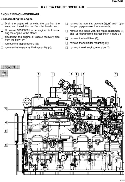 Third Additional product image for - New Holland E215B Tier 3 Crawler Excavator Service Manual