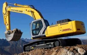 new holland e385b, e385b lc  excavator service manual