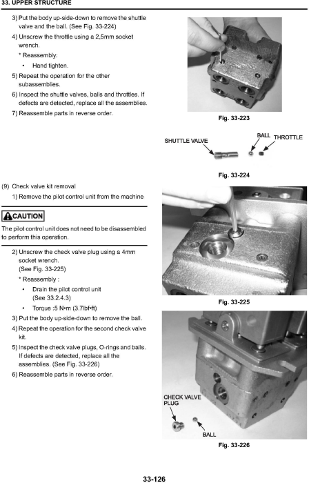 Third Additional product image for - New Holland E265B, E265B LC Excavator Service Manual (2007.7)