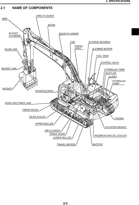 Second Additional product image for - New Holland E265B, E265B LC Excavator with HS engine Service Manual (2007-9)