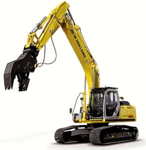 new holland e215b, e215b lc excavator service manual