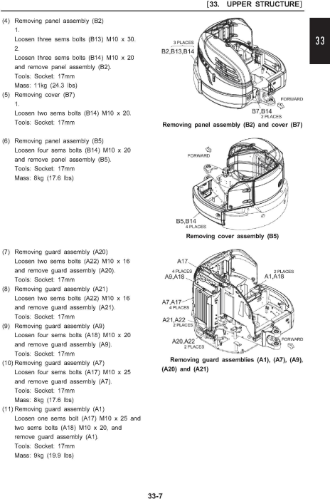 Fourth Additional product image for - New Holland E27B Tier 3 Compact Hydraulic Excavator (PIN. NETN27001 and above) Service Manual