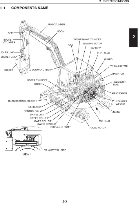 Second Additional product image for - New Holland E55Bx Tier4 Compact Hydraulic Excavator (PIN from NETN 55001; PS04 10001) Service Manual