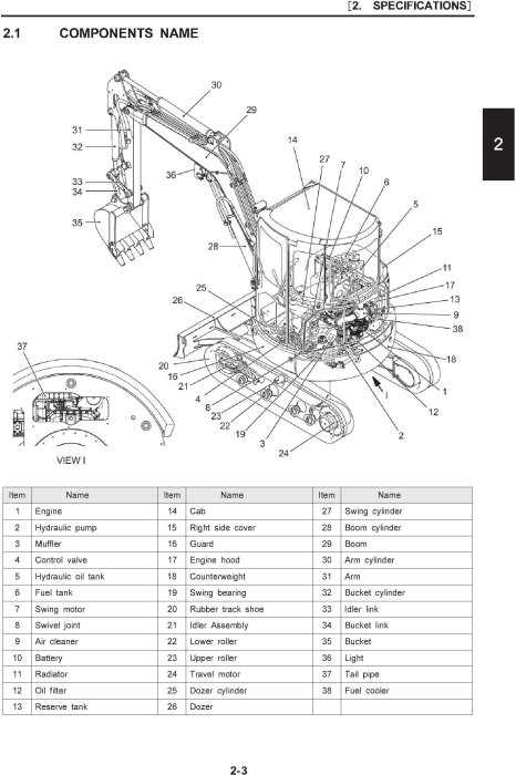 Second Additional product image for - New Holland E30B Tier 4B (final) Compact Hydraulic Excavator (PIN from NETN31001) Service Manual