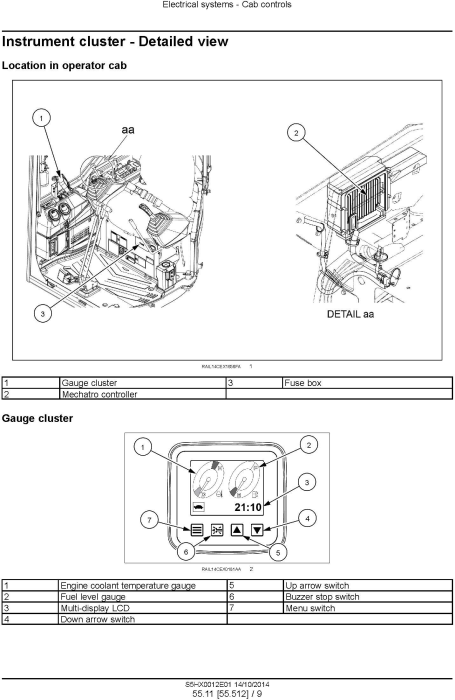 Third Additional product image for - New Holland E35B Tier3 Compact Hydraulic Excavator (PIN from NETN 36001,  PX17 40001) Service Manual