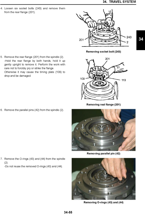 Fourth Additional product image for - New Holland E50B Hydraulic Excavator (PIN. PJ06 00001 and Higher) Service Manual