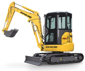new holland e27b sr tier 4 compact crawler excavator service manual