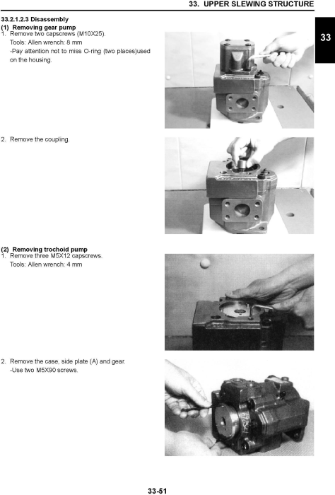Third Additional product image for - New Holland E27B Compact Hydraulic Excavator Service Manual