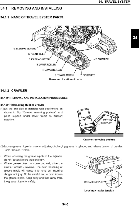 Fourth Additional product image for - New Holland E30B, E35B Compact Hydraulic Excavator Service Manual