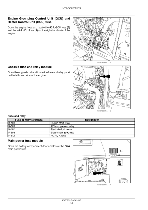 Second Additional product image for - New Holland B95C, B95CTC, B110C Tier 4B (Final) Tractor Loader Backhoe Complete Service Manual