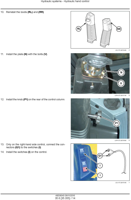 Fourth Additional product image for - New Holland B95C /CLR /CTC (NGHH02222-), B110C (NGHH02228-) T4B final Backhoe Loader Service Manual