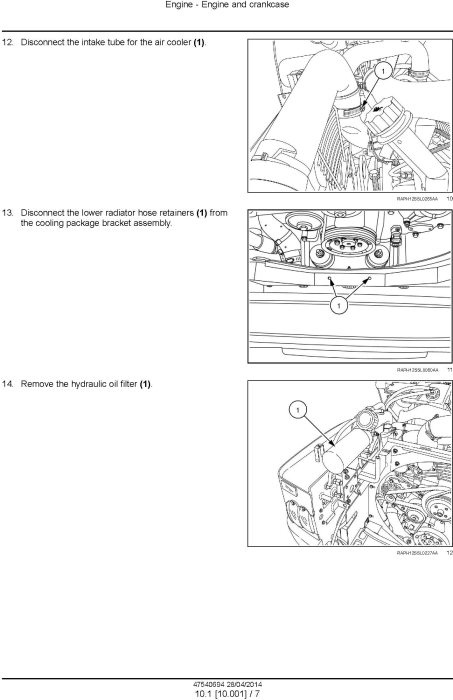 Second Additional product image for - New Holland L223, L225, L230 Skid Steer, C232, C238 Compact Track Loaders (Tier 4A) Service Manual