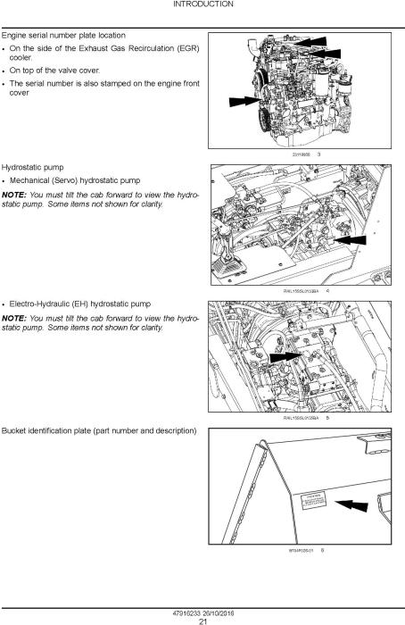 New Holland L234 Skid Steer loader, C238 Compact Track