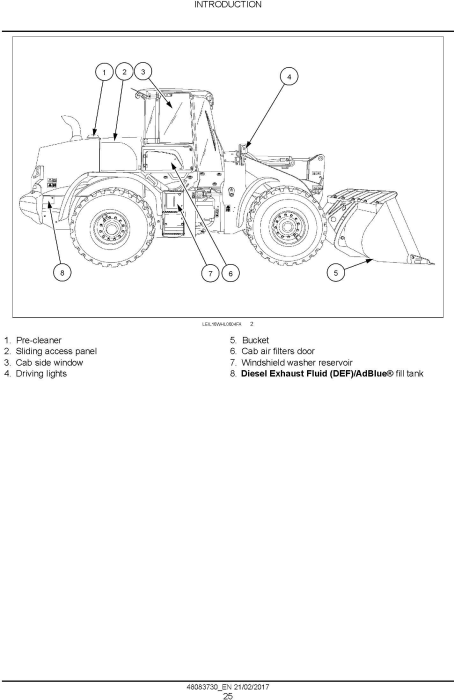 Second Additional product image for - New Holland W130D, W170D Stage IV Wheel loaders Service Manual