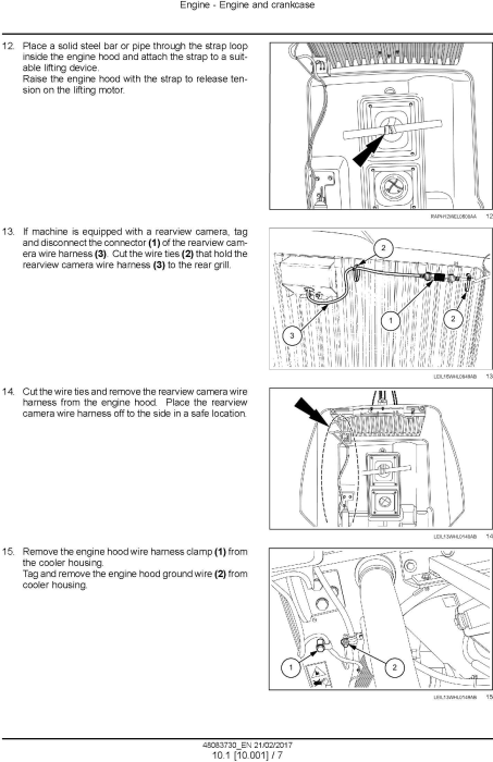 Third Additional product image for - New Holland W130D, W170D Stage IV Wheel loaders Service Manual