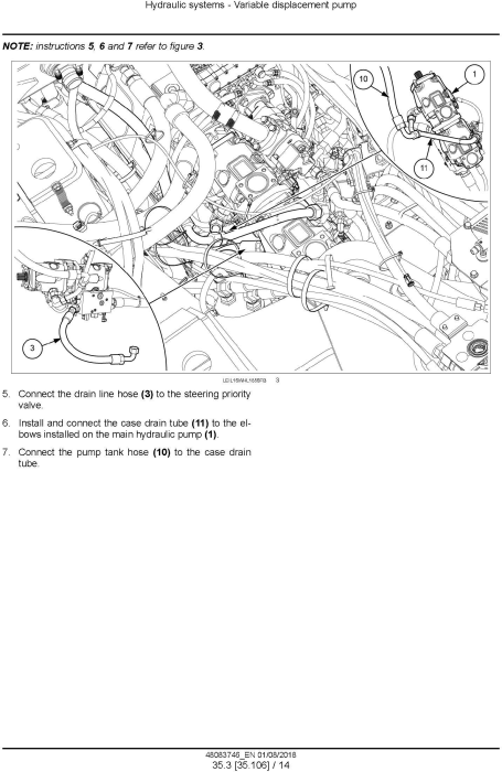 Fourth Additional product image for - New Holland W270D, W300D Tier 2 Wheel Loader Service Manual