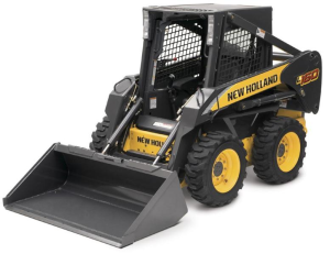 new holland l160, l170 skid steer loaders with mechanical & pilot control, cab service manual