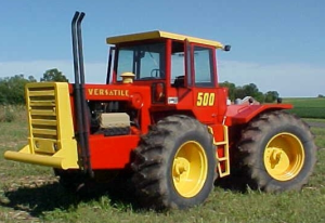 ford versatile 500 4wd tractor (1977-79) complete service repair manual (pu4013)