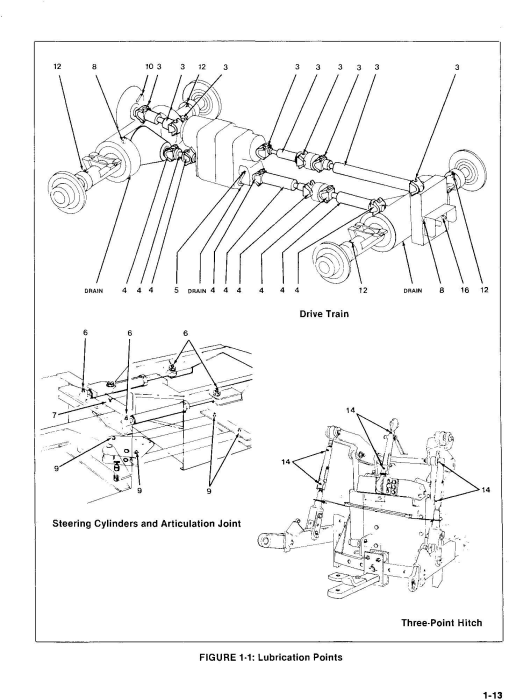 Second Additional product image for - Ford, Versatile 555 4WD Tractor (1980) Complete Service Manual (PU4021)