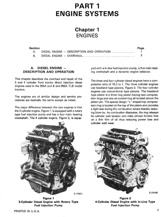 Second Additional product image for - Ford 555A, 555B, 655, 655A Tractor Loader Backhoe Complete Service Repair Manual