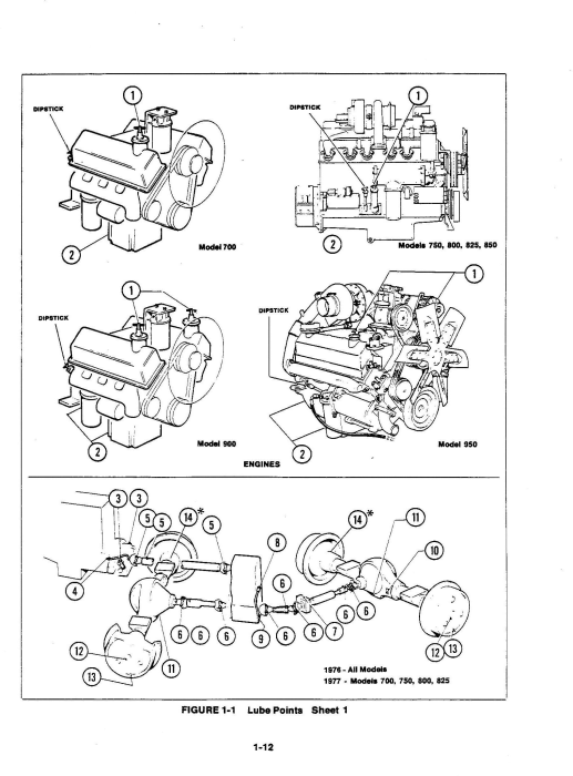 First Additional product image for - Ford Versatile 700, 750, 800, 825, 850, 900, 950 4WD Tractor Series2 (1977) Service Manual (PU4001)