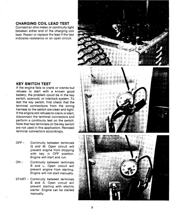 Second Additional product image for - Ford 830 & 1130 Rider Mower Tractor Service Manual (SE3988)