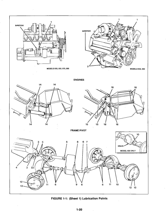 Third Additional product image for - Ford Versatile 835, 855, 875, 895, 935, 950 4WD Tractor Service Manual (V4020)