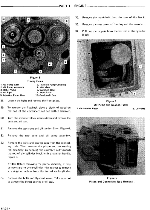 Second Additional product image for - Ford 1000, 1600 Tractor Service Repair Manual (SE3414)