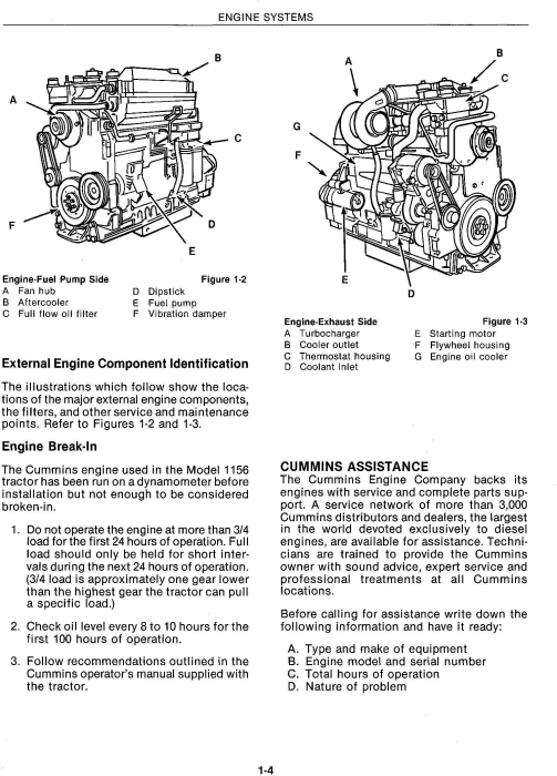 Third Additional product image for - Ford Versatile 1156 Tractor Complete Service Manual