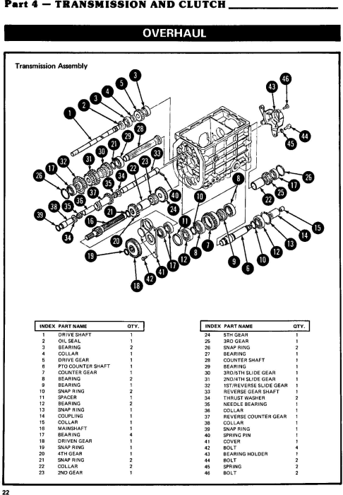 Fourth Additional product image for - Ford 1100, 1200, 1300, 1500, 1700, 1900 Tractor Complete Service Manual (SE3771)