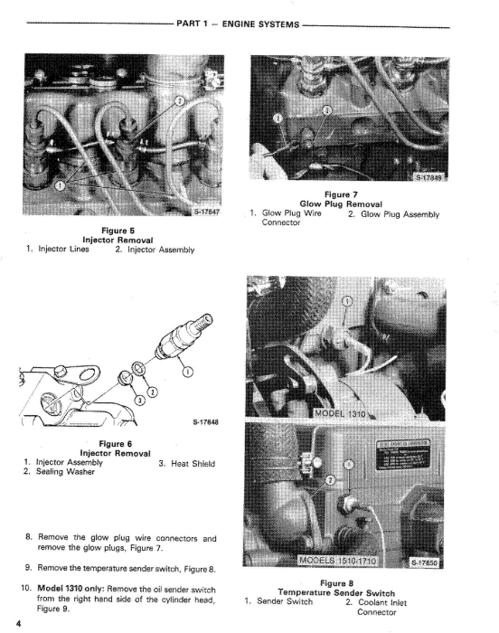 Second Additional product image for - Ford 1310, 1510, 1710 Tractor Comlete Service Manual (SE4301)