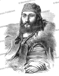 captain charles sawyer speedy (1836-1911) of the abyssinian expedition, the illustrated london news, 1868