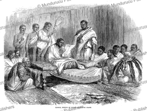 kassai, prince of tigre, abyssinia, g.a. henty, 1868