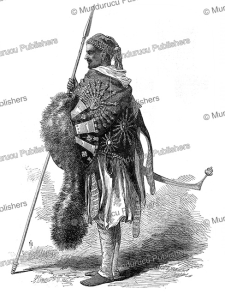 abyssinian chief, the illustrated london news, 1868